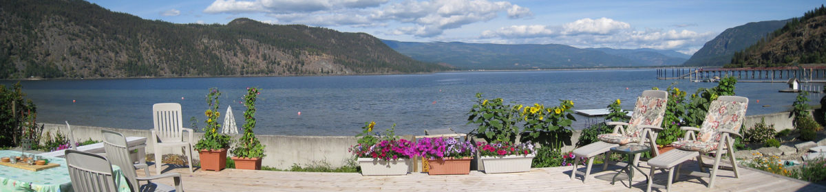 Shuswap Vacation Rentals: Waterfront Cottage on Little Shuswap Lake